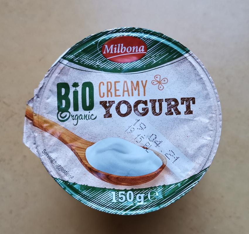 bio krémjoghurt